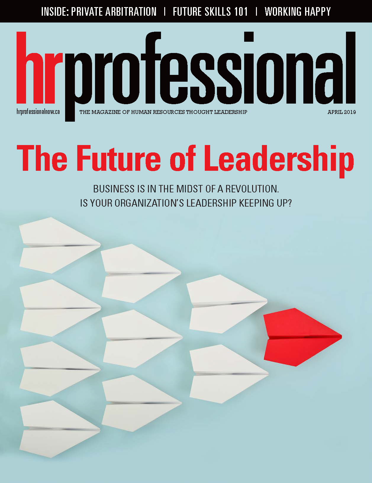 HR Professional April 2019 cover