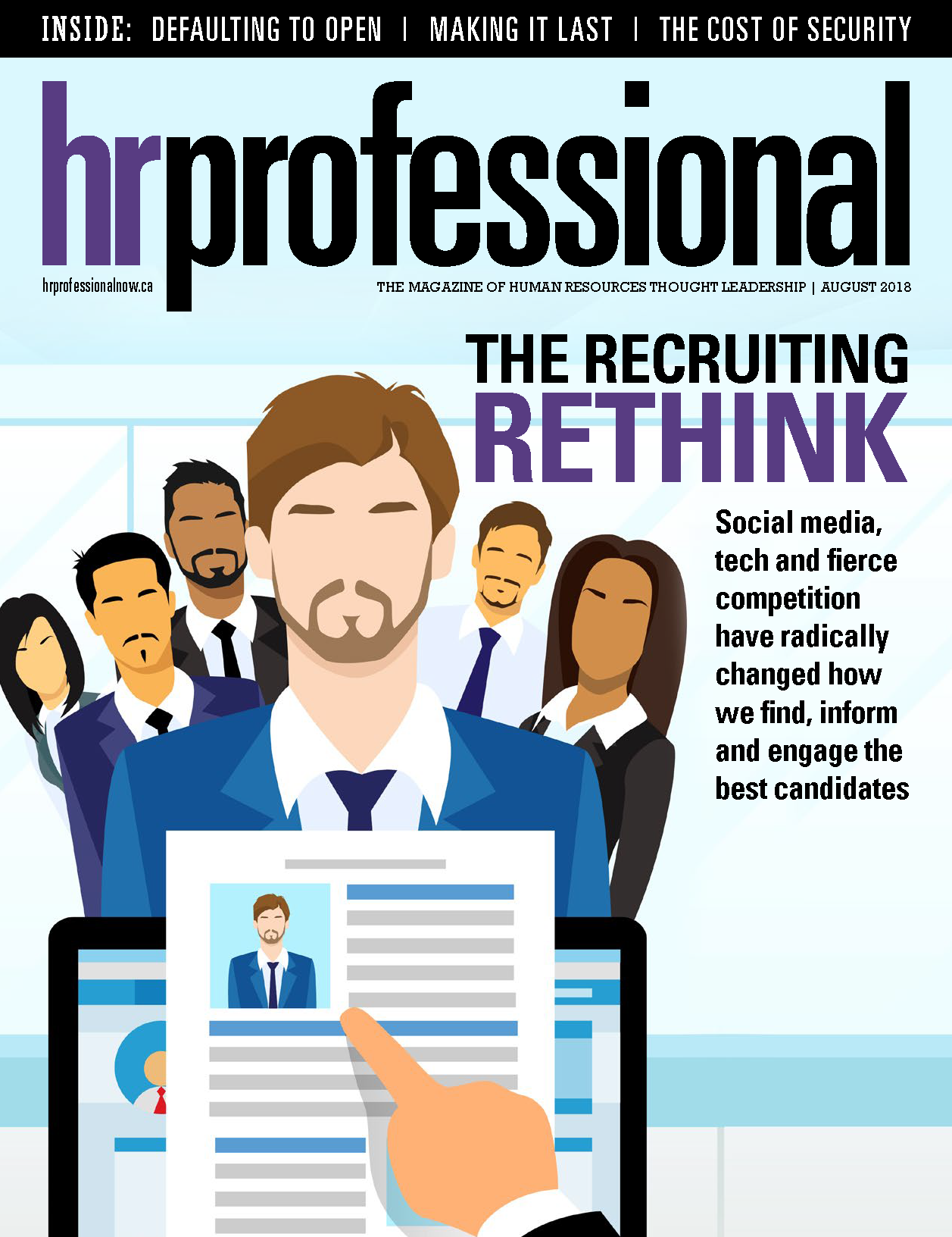 HR Professional Digital Magazine - August 2018