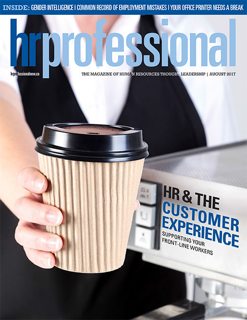 HR Pro July 2017 cover