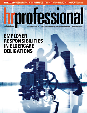 HR Pro September 2017 cover