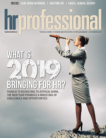 HR Professional Digital Magazine - December 2018