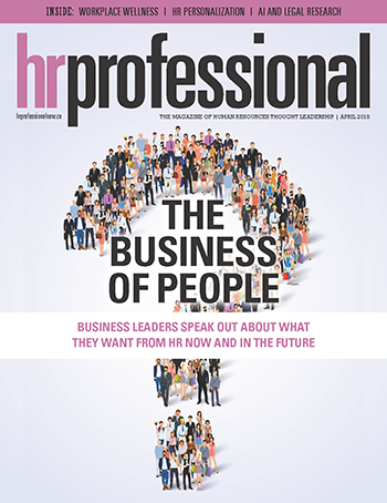 HR Professional April 2018