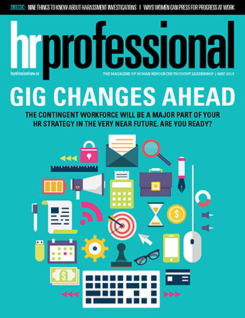 HR Professional Digital Magazine - May 2018