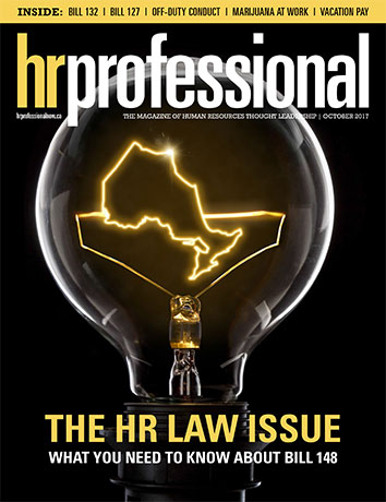 HR Pro October 2017 cover