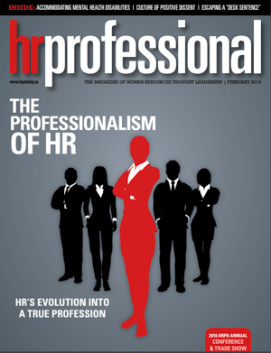 HR Professional | February 2016