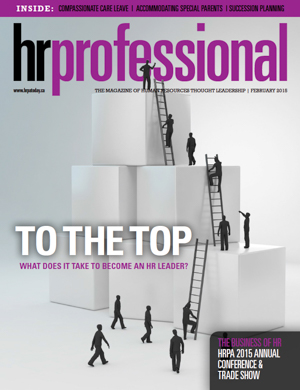 HR Professional | February 2015