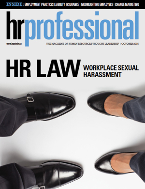 HR Professional | October 2015