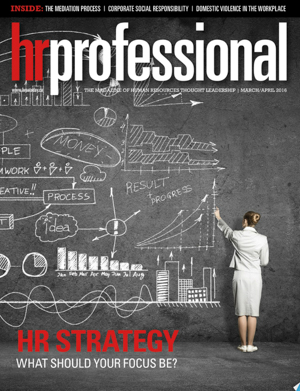 HR Professional | March/April 2016
