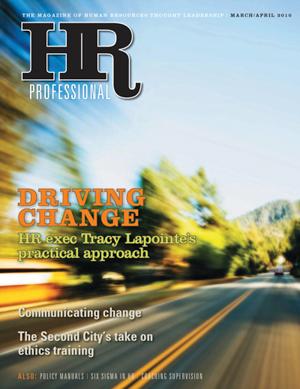 HR Professional March/April 2010