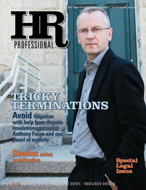 HR Professional October 2010