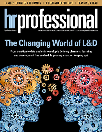 HR Professional Digital Magazine - September 2018